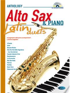 Latin Duets for Alto Sax & Piano Books and CDs | Alto Saxophone, Piano Accompaniment