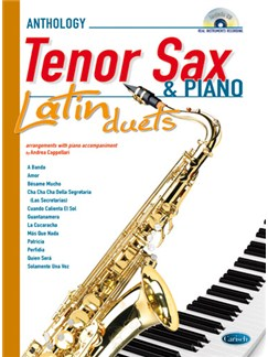 Latin Duets for Tenor Sax & Piano Books and CDs | Tenor Saxophone, Piano Accompaniment