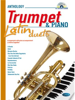 Latin Duets for Trumpet & Piano Books and CDs | Piano, Trumpet