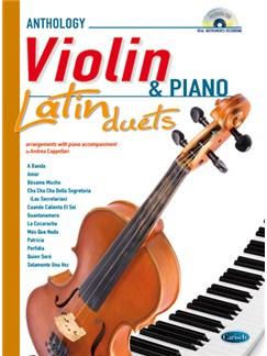 Latin Duets for Violin & Piano Books and CDs | Piano, Violin