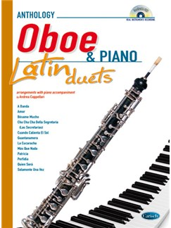 Latin Duets for Oboe & Piano Books and CDs | Oboe, Piano