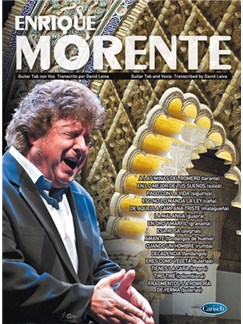 Enrique Morente: Guitar TAB and Voice Books | Guitar, Guitar Tab, Voice