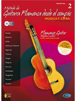 Método de Guitarra Flamenca desde el Compás, Volume 2 Books and CDs | Guitar, Guitar Tab, Voice