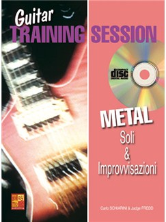 Guitar Training Session: Soli & Improvvisazioni Heavy-Metal Books and CDs | Guitar