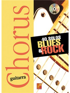 40 Solos Blues & Rock CD y Libro | Guitar