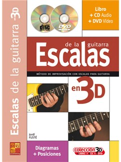 Escalas para la Improvisación en 3D CD, DVDs / Videos y Libro | Guitar