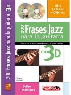 200 Frases Jazz para Guitara en 3D CD, DVDs / Videos y Libro | Guitar