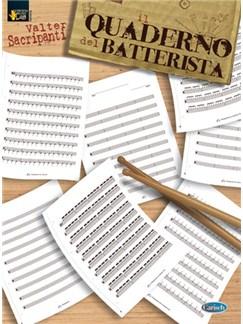 Il Quaderno del Batterista Libro | Batería