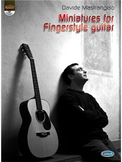 Davide Mastrangelo: Miniatures for Fingerstyle Guitar Books and CDs | Guitar