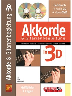 Akkorde & Gitarrenbegleitung in 3D Books, CDs and DVDs / Videos | Guitar