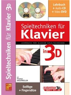 Spieltechniken für Klavier en 3D Books, CDs and DVDs / Videos | Piano