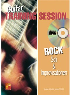 Guitar Training Session: Rock Soli & Improvisationen Books, CDs and DVDs / Videos | Guitar