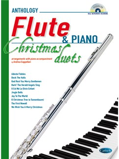 Anthology Christmas Duets for Flute & Piano Books and CDs | Flute, Piano