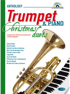 Anthology Christmas Duets for Trumpet & Piano Books and CDs   Piano, Trumpet