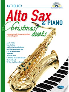 Anthology Christmas Duets for Alto Sax & Piano Books and CDs | Alto Saxophone, Piano Accompaniment