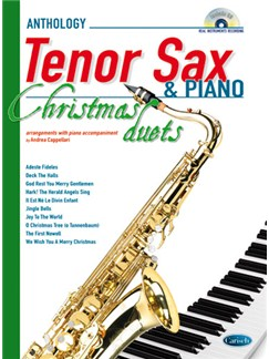 Anthology Christmas Duets for Tenor Sax & Piano Bog og CD | Tenorsaxofon, Klaverakkompagnement