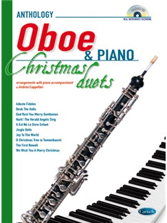 Anthology Christmas Duets for Oboe & Piano Books and CDs | Oboe, Piano