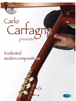 Carlo Carfagna Presents: 11 Selected Modern Compositions Books | Guitar
