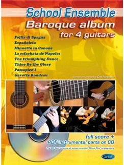 Baroque Album for 4 Guitars Books and CD-Roms / DVD-Roms | Guitar (Quartet)