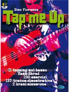 Tap Me Up Books and CDs | Bass Guitar