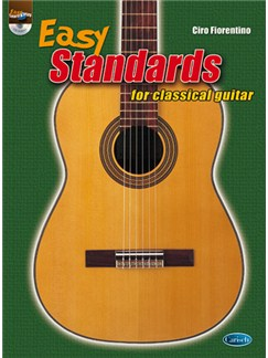 Easy Standards for Classical Guitar Books and CDs | Guitar