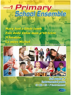 Primary School Ensemble, Volume 1 Libro | Conjunto de Escuela