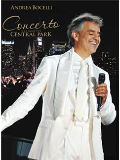 Andrea Bocelli: A Night in Central Park Books | Piano, Vocal & Guitar