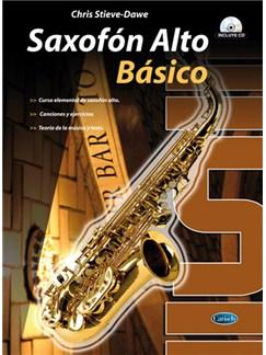 Saxofón Alto Básico CD y Libro | Saxophone