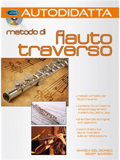 Autodidatta: Metodo di Flauto Traverso Books and CDs | Flute