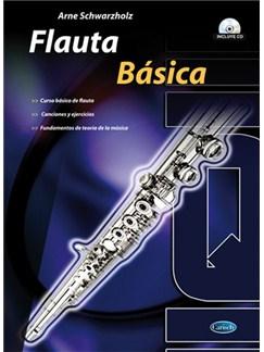 Flauta Básico CD y Libro | Flute