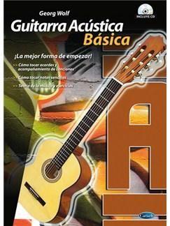 Guitarra Acústica Básico CD y Libro | Guitar