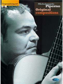 Michelangelo Piperno: Original Compositions DVDs / Videos y Libro | Guitarra
