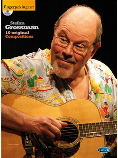 Stefan Grossman: Ten Original Compositions Books and CDs | Guitar