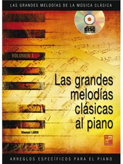 Las Grandes Melodías Clásicas Tocadas al Piano CD y Libro | Piano