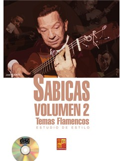 Sabicas, Volumen 2 Bog og CD | Guitar