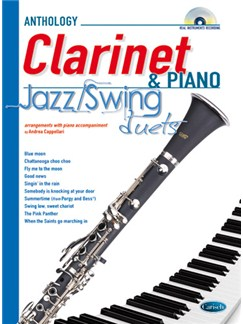 Jazz Swing Duets for Clarinet & Piano CD et Livre | Clarinette, Piano