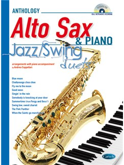 Jazz Swing Duets for Alto Sax & Piano Books and CDs | Alto Saxophone, Piano Accompaniment
