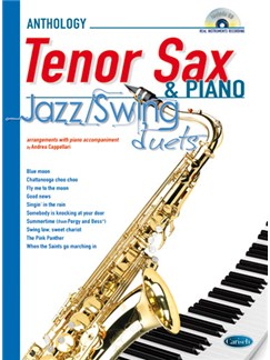 Jazz Swing Duets for Sax & Piano Books and CDs | Saxophone, Piano