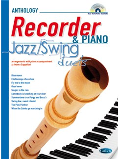 Jazz Swing Duets for Recorder & Piano Books and CDs | Soprano (Descant) Recorder, Piano Accompaniment