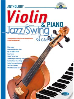 Jazz Swing Duets for Violin & Piano Books and CDs | Violin, Piano
