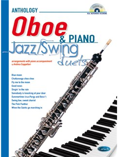 Jazz Swing Duets for Oboe & Piano Books and CDs | Oboe, Piano