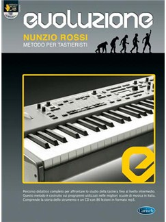 Evoluzione - Metodo per Tastieristi Books and CD-Roms / DVD-Roms | Keyboard