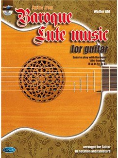 Baroque Lute Music for Guitar Books and CDs | Guitar