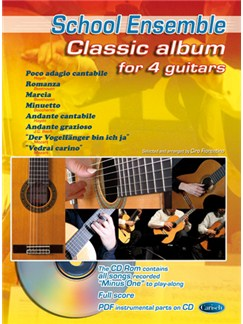Classic Album for 4 Guitars CD y Libro | Guitarra(Cuarteto)