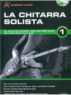 La Chitarra Solista - Volume 1 (Nuova Edizione) Books and DVDs / Videos | Guitar