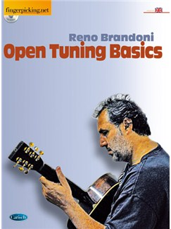 Open Tuning Basics (English Version) Books and CDs | Guitar