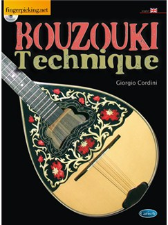 Bouzouki Techinque (English) Books and CDs | Bouzouki