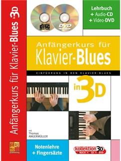 Anfängerkurs für Klavier-Blues in 3D Books, CDs and DVDs / Videos | Piano