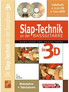 Die Slap-Technik an der Bassgitarre in 3D Books, CDs and DVDs / Videos | Bass Guitar