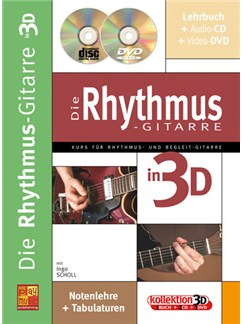 Die Rhythmus-Gitarre in 3D Books, CDs and DVDs / Videos | Guitar